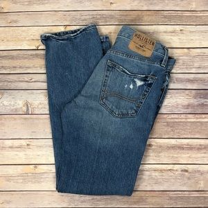 HOLLISTER Slim straight buttonfly Jeans